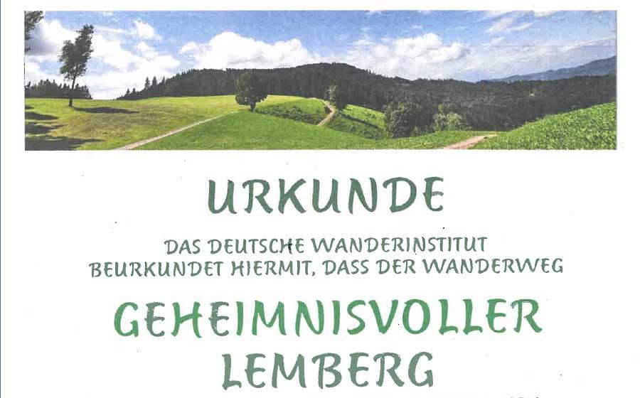 """Zertifizierung des """"geheimnisvollen Lembergs"""""""