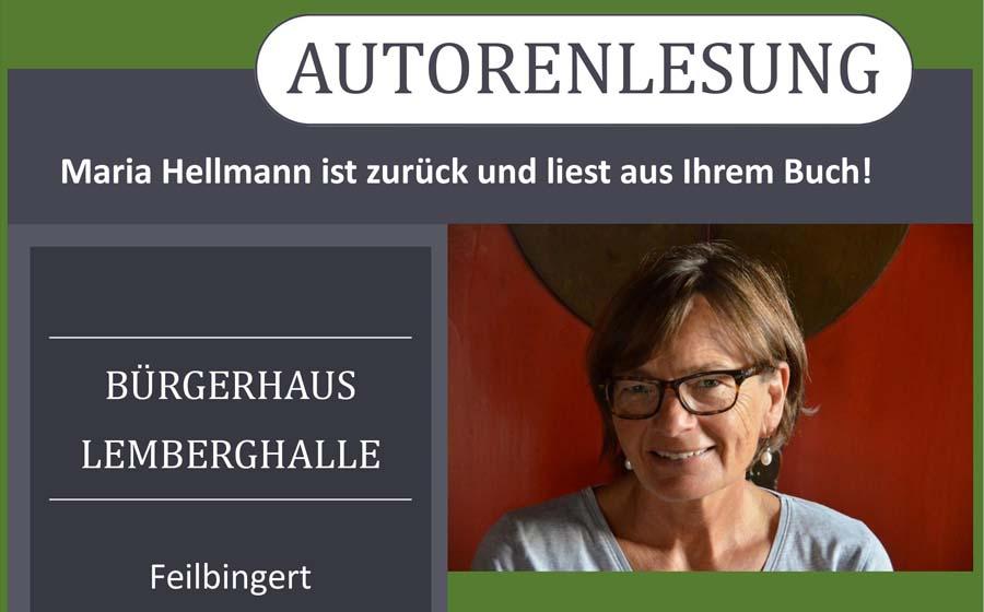 Maria Hellmann – Autorenlesung