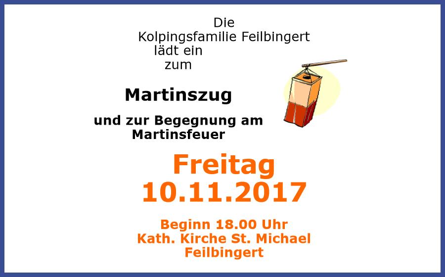 Martinszug 2017 Feilbingert