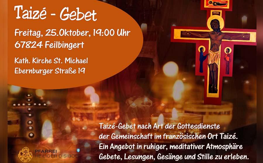 Taize-Gebet in Feilbingert