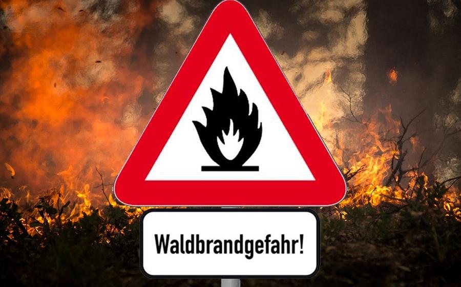 Brandgefährlich!