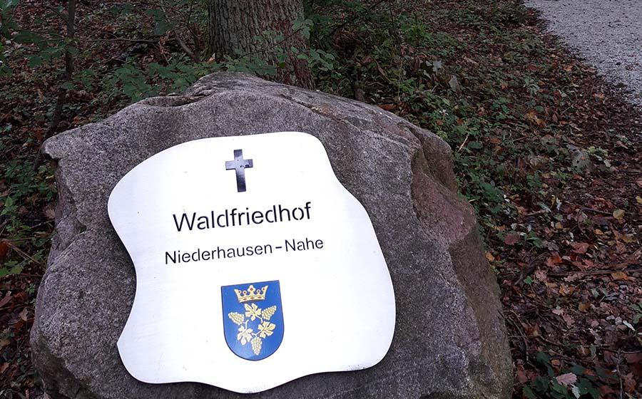 Eröffnung Waldfriedhof Niederhausen